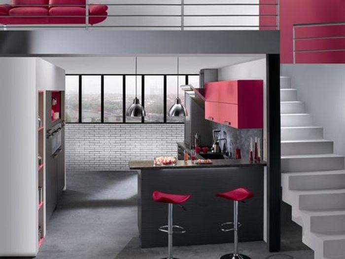 Favori Une cuisine réinventée : vive la couleur ! - Elle Décoration OB68