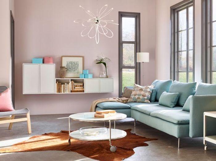Fabuleux Quelles couleurs associer dans mon salon ? - Elle Décoration UC92
