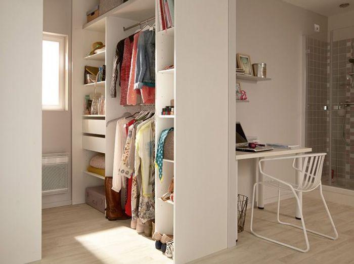 Fabuleux 15 idées de dressings pour un petit appartement - Elle Décoration AL49