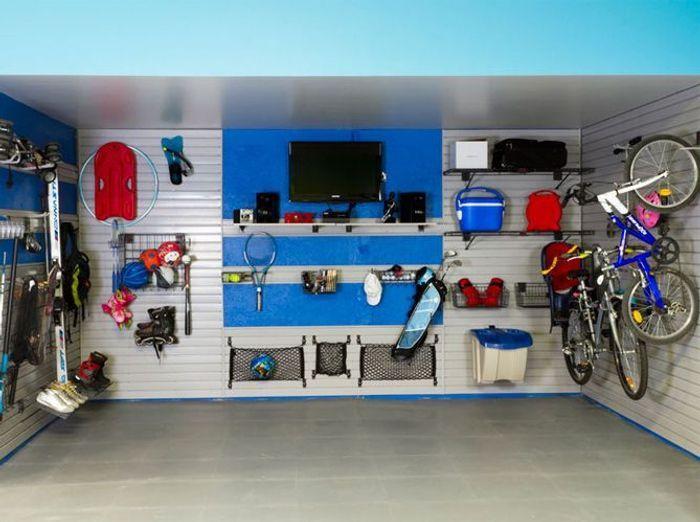 Sehr Nos idées de rangements pour le garage - Elle Décoration BP77