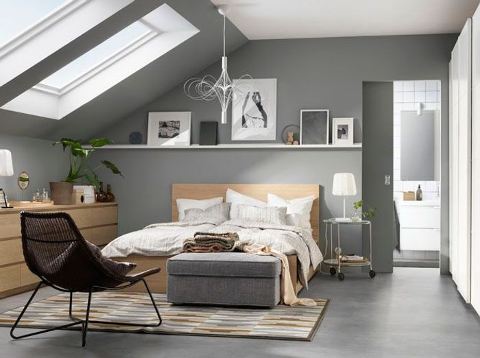 Connu 35 chambres sous les combles - Elle Décoration DS98
