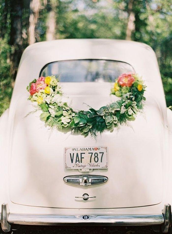 Exceptionnel Décoration voiture mariage champêtre - 10 jolies façons de décorer  ZZ18