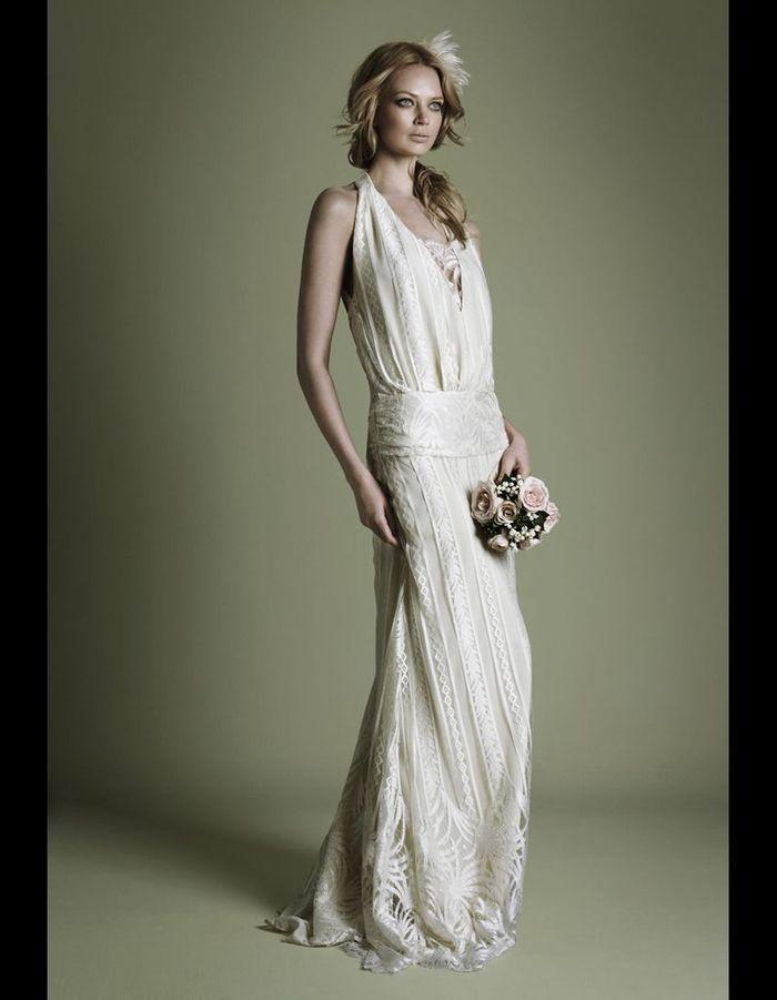 robe en cr pe style ann es 20 the vintage wedding dress company 50 robes de mari e qui. Black Bedroom Furniture Sets. Home Design Ideas