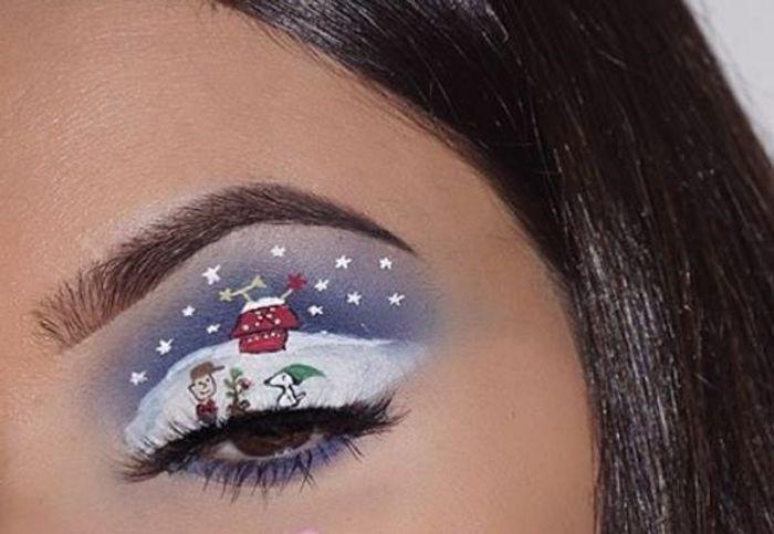 Populaire Maquillage des yeux façon bande dessinée - 10 idées spectaculaires  HT96