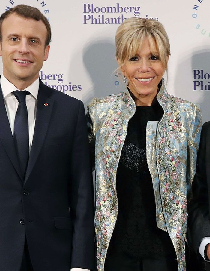 Le chignon blond de Brigitte Macron