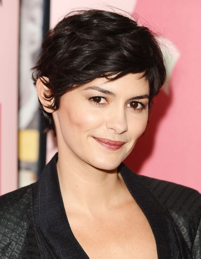 coupe gar onne audrey tautou ses coiffures. Black Bedroom Furniture Sets. Home Design Ideas