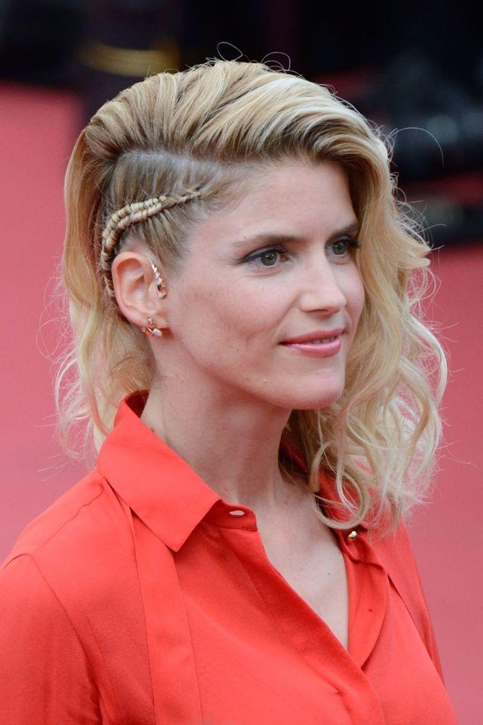 Alice Taglioni opte pour un fard très léger lors de l'ouverture du Festival de Cannes 2018