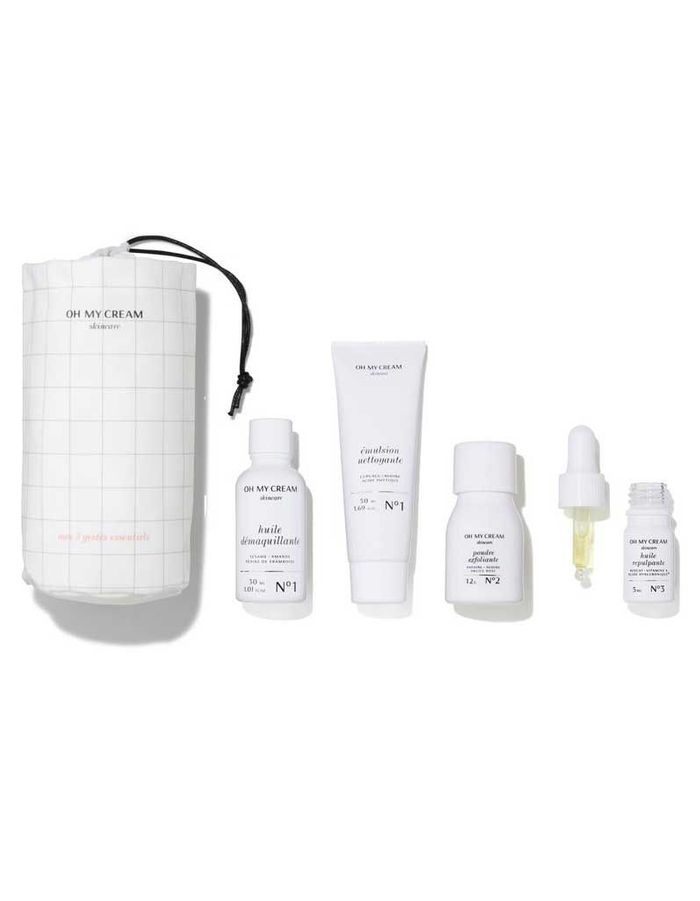 Kit de Voyage Réparateur, Oh My Cream Skincare, 39 €