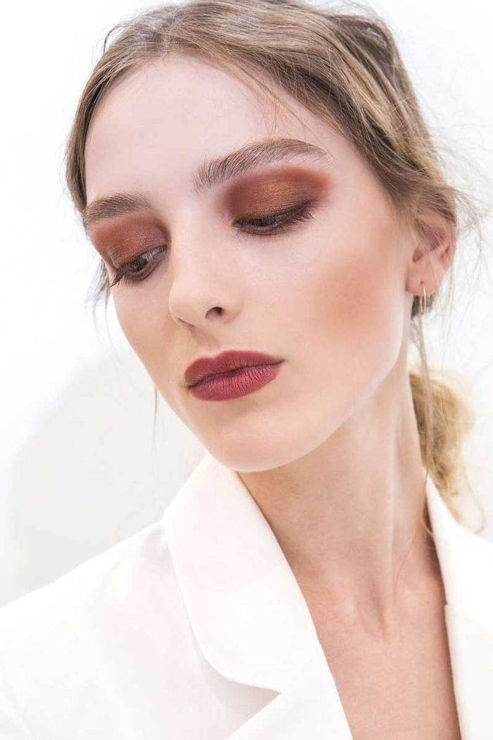 Maquillage sexy : la couleur Burgundy