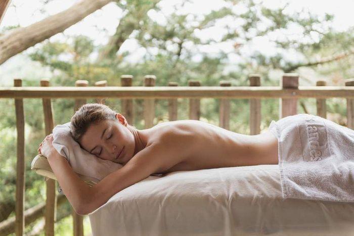 Le massage couple du Spa Yves Rocher à la Grée des Landes : le plus nature
