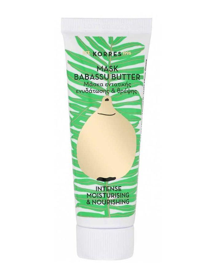 Masque Beurre de Babassu, Korres, 18 ml, 7,90 €