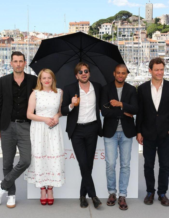 """Cannes 2017 : Dominic West et Elisabeth Moss présentent """"The Square"""""""