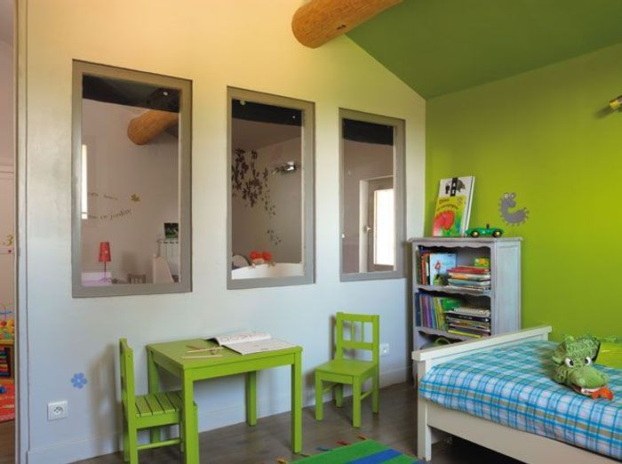 Good chambres duenfants misez sur la couleur with couleur for Chambre ultra design