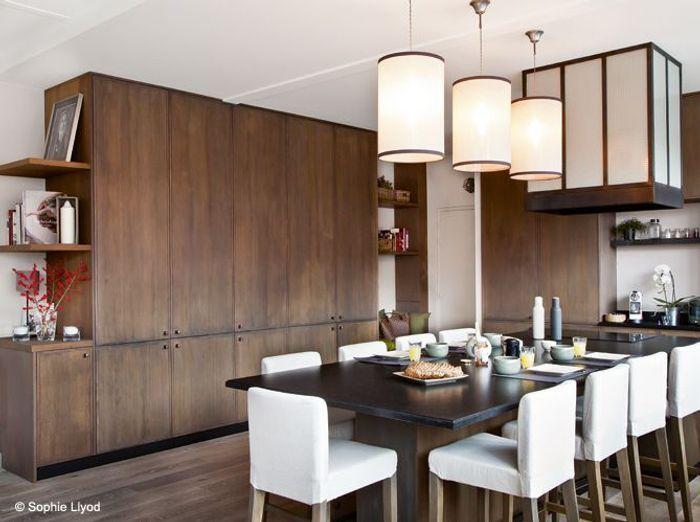 Cuisine des rangements beaux et pratiques elle d coration for Hotel avec miroir au plafond