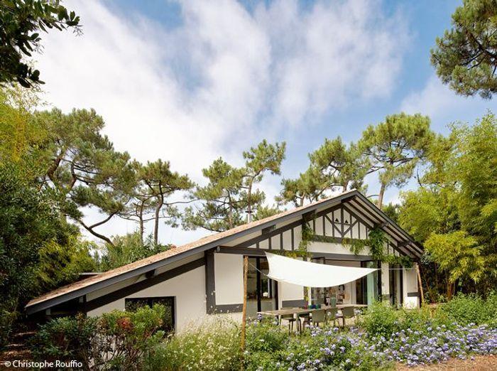 une maison dans les landes qui sent bon les vacances elle d coration. Black Bedroom Furniture Sets. Home Design Ideas