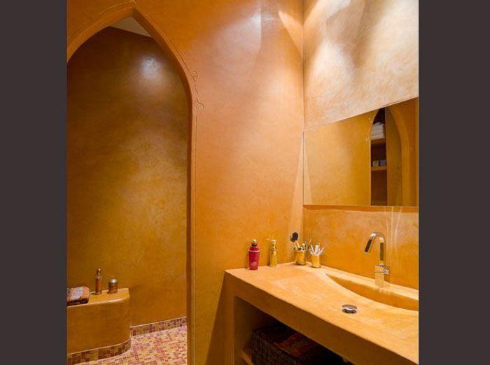 Des salles de bains qui invitent au voyage elle d coration for Salle de bain style hammam