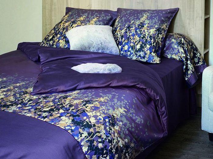 Du linge de lit tr s fleuri elle d coration - Linge de lit contemporain ...
