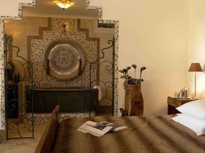 Best deco chambre orientale chic ideas for Miroir tunisien