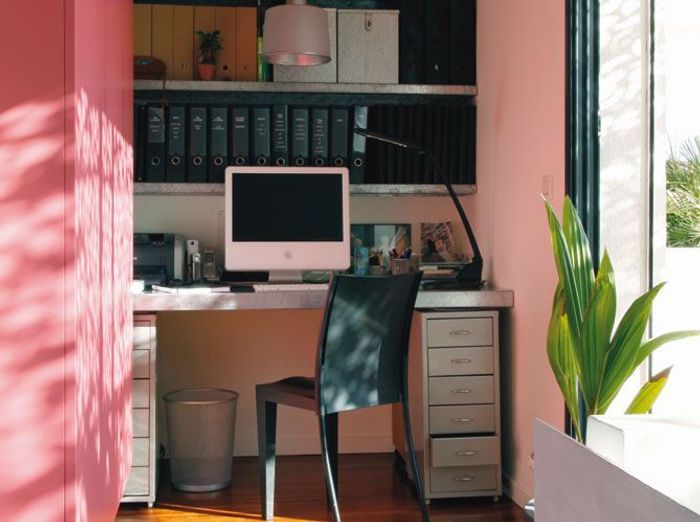 un bureau chez soi elle d coration. Black Bedroom Furniture Sets. Home Design Ideas