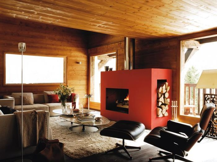 Un chalet entre tradition et design