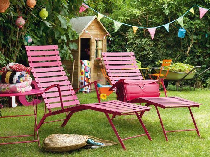 40 chaises longues et transats pour un t relax elle for Chaises longues pour jardin