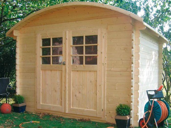 Une jolie cabane pour mon jardin elle d coration for Cabane de jardin 5m2