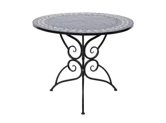 Fer forg la touche r tro de votre mobilier de jardin - Table en fer forge exterieur ...