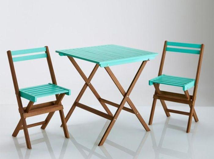 Gain de place les meubles de jardin pliables elle for Ameublement de jardin