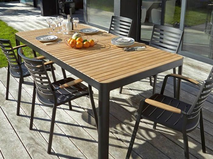 La collection jardin 2016 castorama elle d coration for Table de jardin terrasse