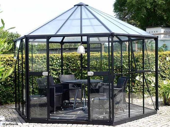 pergolas et gloriettes l architecture au jardin elle. Black Bedroom Furniture Sets. Home Design Ideas
