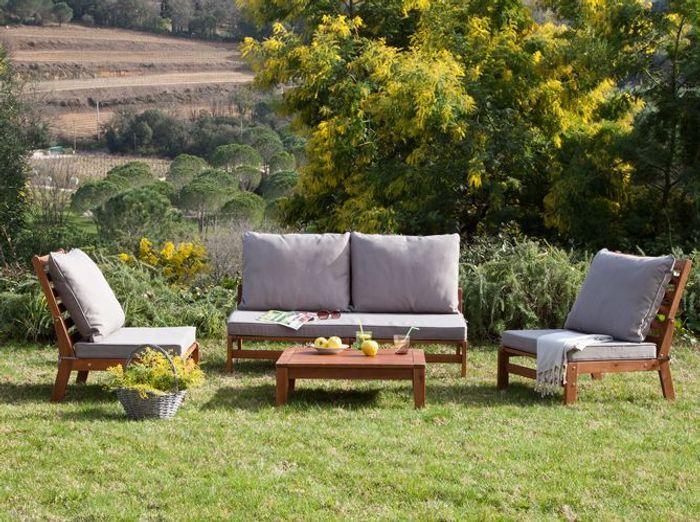 Shopping 30 meubles de jardin pas chers pour ne pas se ruiner elle d cora - Salon jardin romantique ...