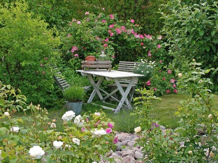 On s inspire des jardins anglais elle d coration - Jardin anglaise colombes ...