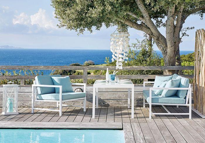 terrasse avec piscine d couvrez nos plus belles id es d co elle d coration. Black Bedroom Furniture Sets. Home Design Ideas