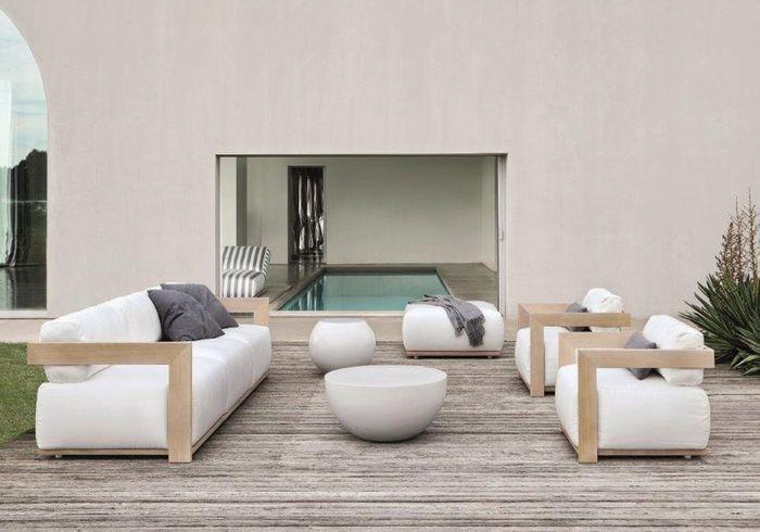 Canapé de jardin Meridiani