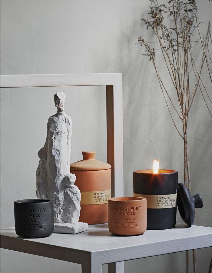 Bougie parfumée en céramique H&M Home