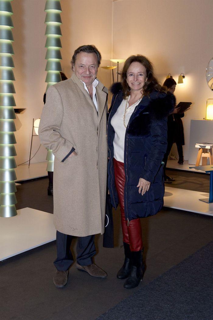 Olivier Gagnère et Éléonore de la Rochefoucauld