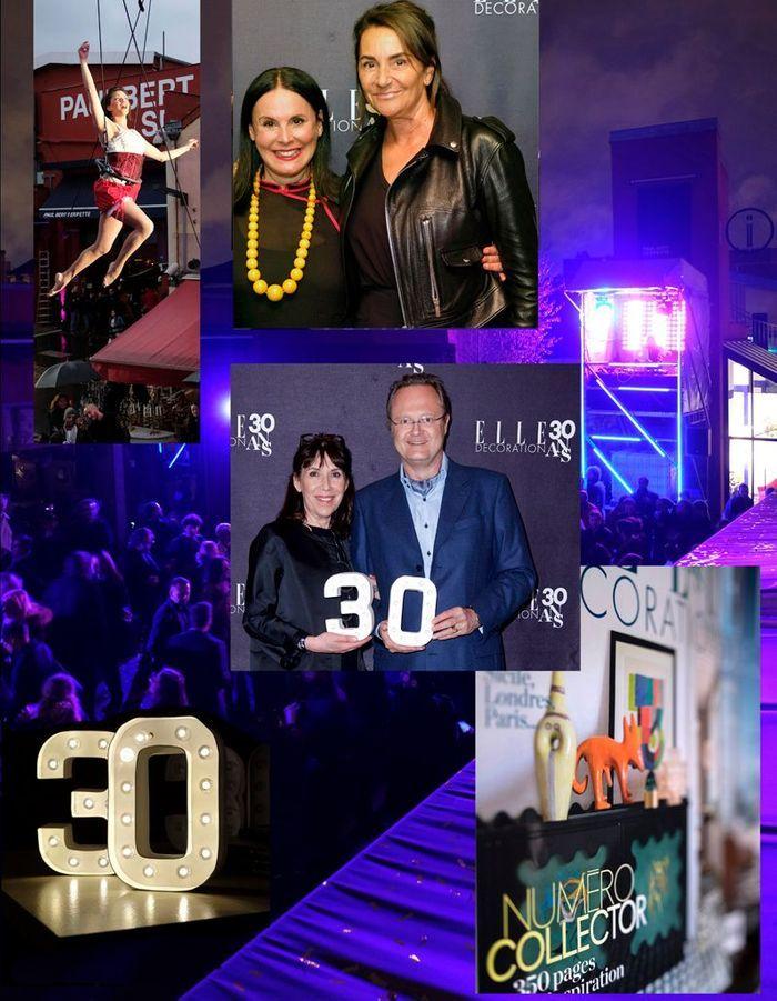 La soirée des 30 ans du ELLE Décoration comme si vous y étiez !