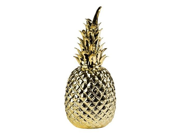 Une d co ananas pour vitaminer son int rieur elle for Ananas deco maison