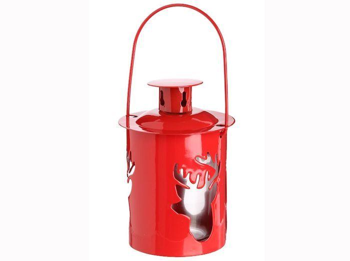 Lanterne deco rouge