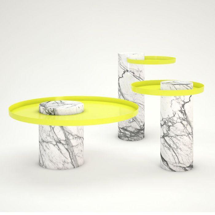 Tables en marbre