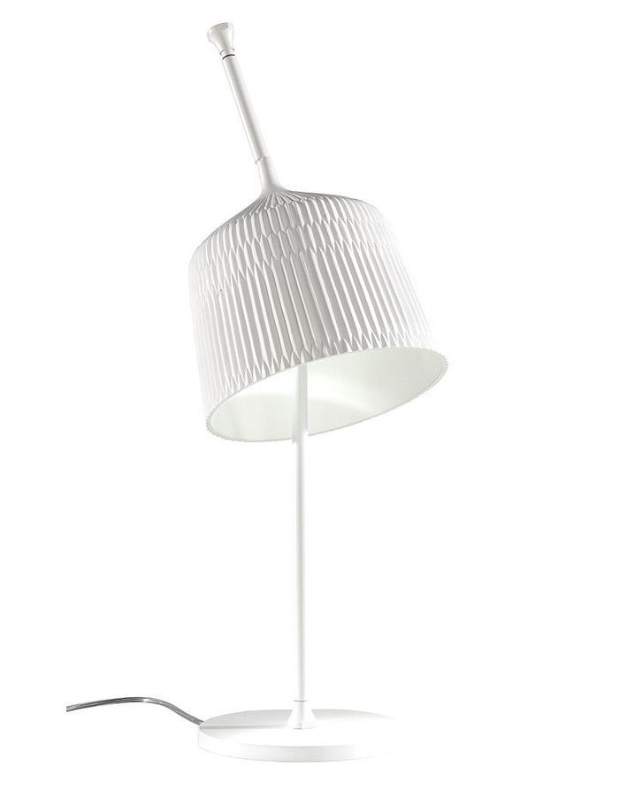 Le pliss s invite dans la d co elle d coration for Lampes a poser ikea