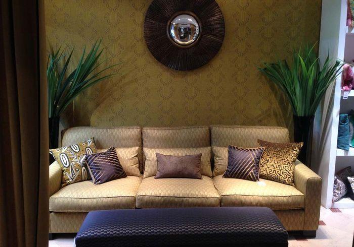 tissus textiles papiers peints quoi de neuf elle d coration. Black Bedroom Furniture Sets. Home Design Ideas