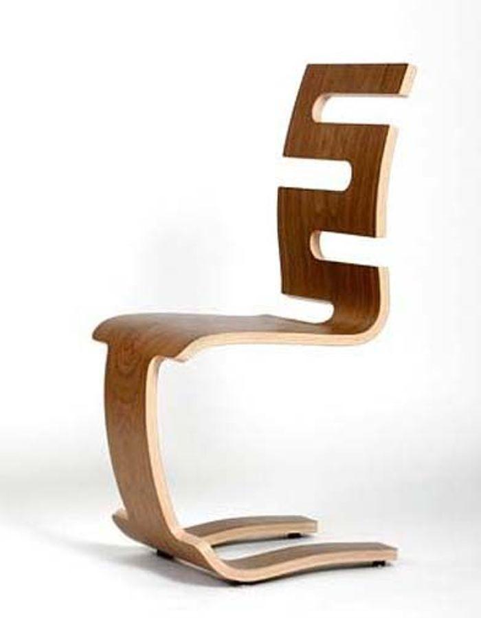 Tendance a tout bois elle d coration - Chaise bois design ...