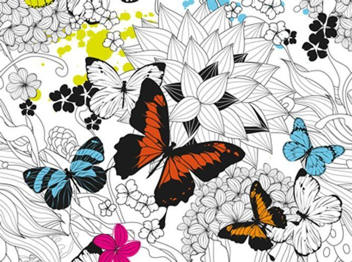 Papierpeintpapilloncoloreessodezigncom