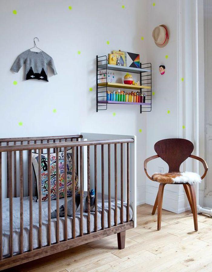 Une chambre de bébé dans l'air du temps