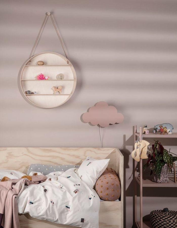 Chambre de petite fille pastel