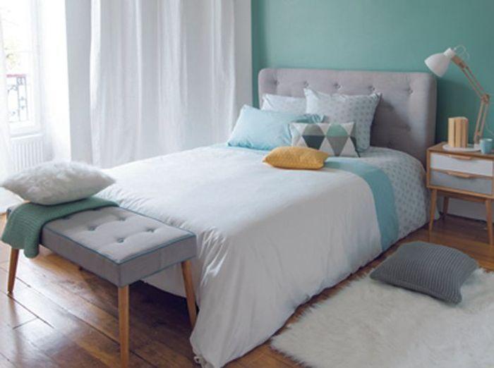 Une chambre cosy pour l 39 automne elle d coration for Ikea pleine taille sommier