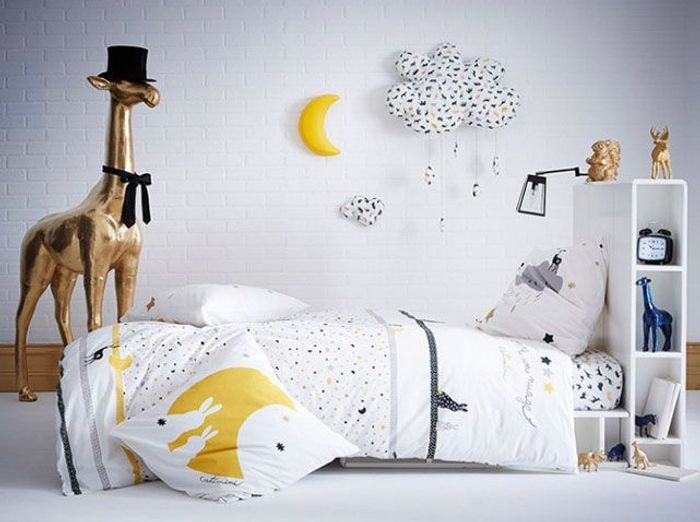 enfants 30 id es pour am nager une petite chambre elle d coration. Black Bedroom Furniture Sets. Home Design Ideas