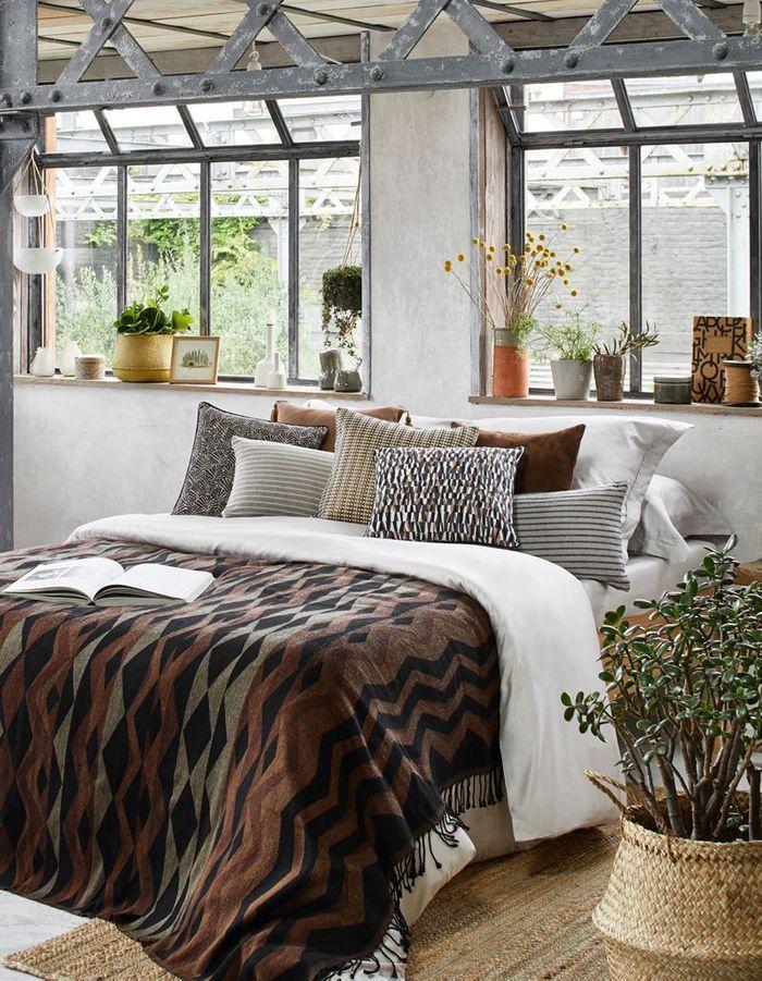 Faire la part belle aux végétaux pour une chambre cocooning