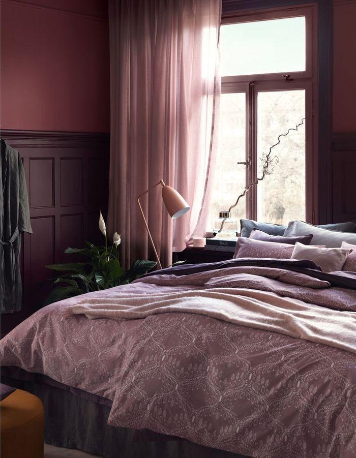 Jouer sur le camaïeu de teintes pour une chambre cocooning